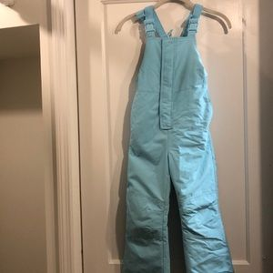 Hanna Andersson size 6 snow overalls